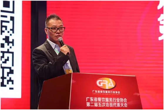 广东省餐饮服务行业协会执行会长谭海城